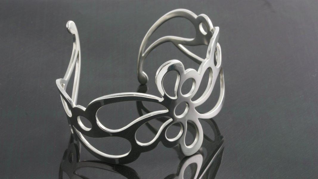 03_ujo_rocks_handmade_sterling_silver_floral_flow_cuff_bracelet_polished