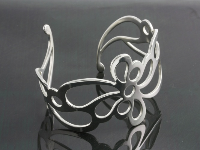 03_ujo_rocks_handmade_sterling_silver_floral_flow_cuff_bracelet_polished_thumbnail