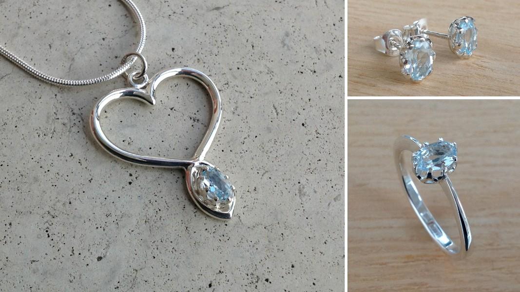 15_ujo_rocks_handmade_sterling_silver_topaz_heart_pendant_ring_earrings_set_polished