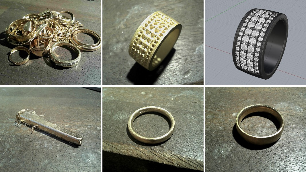 19_ujo_rocks_bespoke_14k_yellow_gold_wedding_rings_diamonds_progress_pics