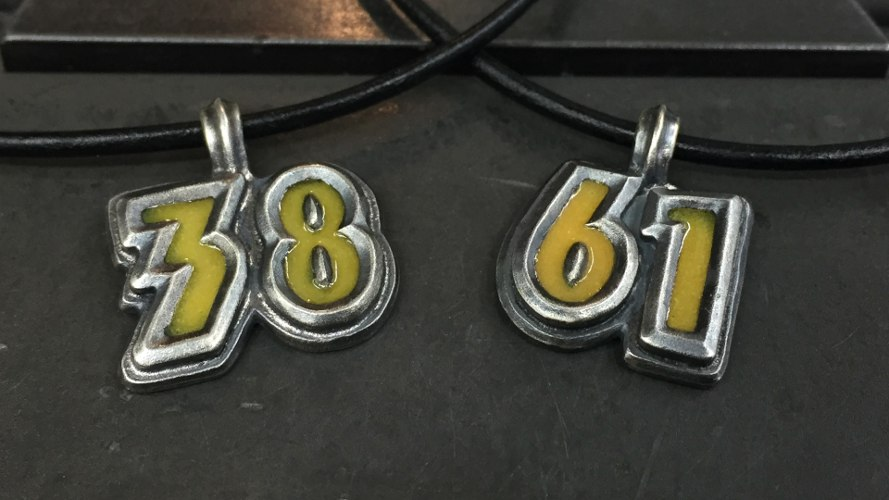44_ujo_rocks_bespoke_handmade_sterling_silver_player_number_tag_pendants_glow_in_the_dark_thumbnail_wide