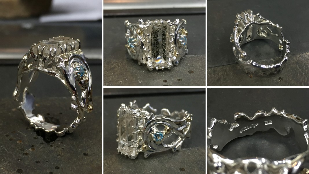 48_ujo_rocks_bespoke_handmade_sterling_silver_and_gold_three_stone_ring_rutilated_quartz_and_topaz_polished