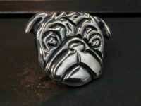 50_ujo_rocks_handmade_sterling_silver_pug_pin_polished_and_oxidized_thumbnail