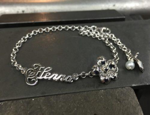 Name tag bracelets