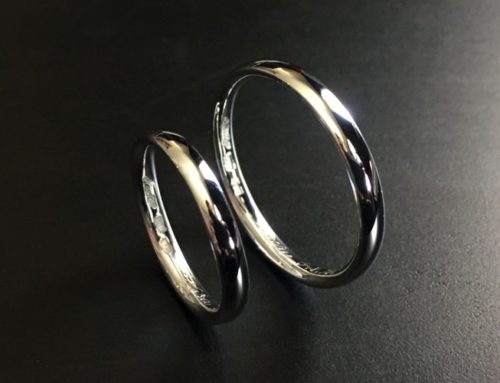 Dome band rings