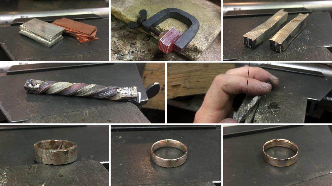 59_ujo_rocks_handmade_sterling_silver_and_copper_mokume_gane_progress_pics