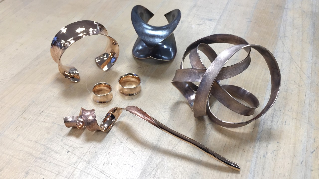 75_ujo_rocks_handmade_anticlastic_raising_bronze_bracelet_rings_sculptures_frosted_polished